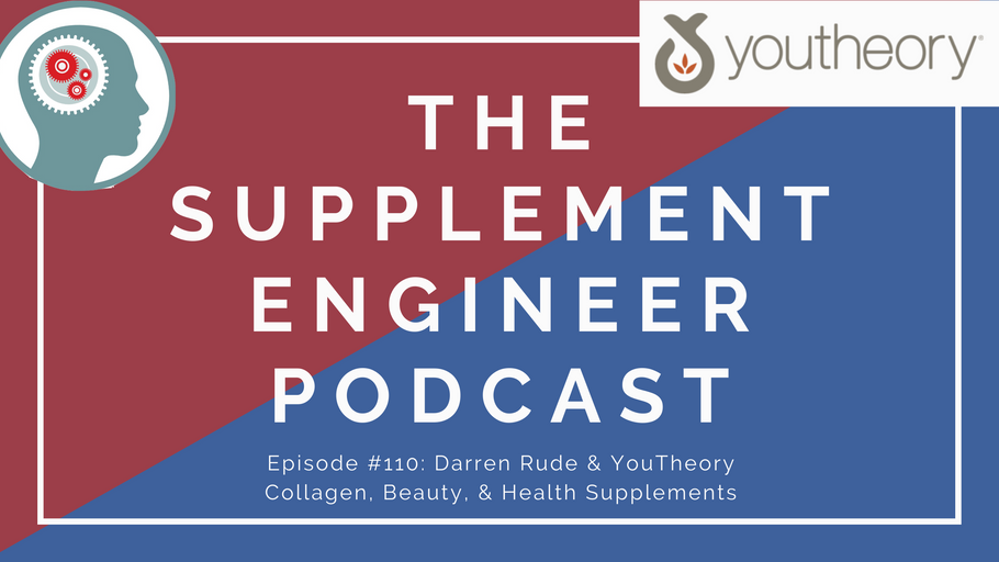 Episode #110: Darren Rude & YouTheory Collagen, Health, and Beauty Supplements
