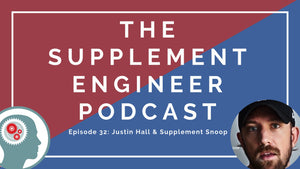 Episode #32: Justin Hall & Supplement Snoop
