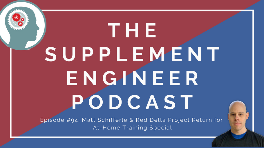 Episode #94: Matt Schifferle & Red Delta Project Returns to Discuss At-Home Bodyweight Bodybuilding