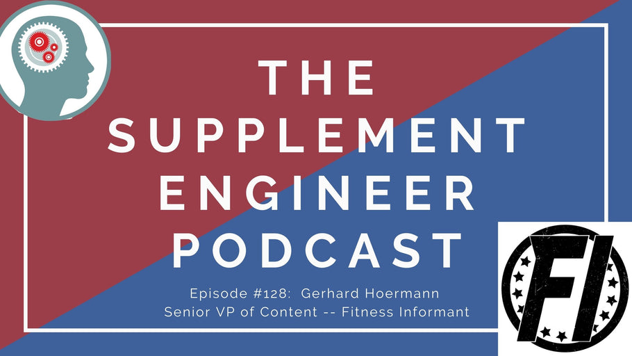 Episode #128:  Gerhard Hoermann Senior VP of Content Fitness Informant