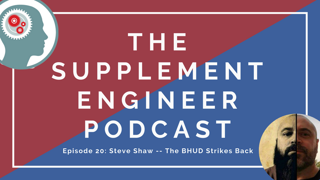 Steve Shaw, Editorial Director of TigerFitness.com and Massive Iron, re-joins the Supplement Engineer podcast for its 20th episode.