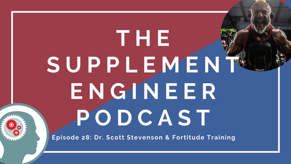 In episode #28 of the Supplement Engineer Podcast, we're joined by Dr. Scott W. Stevenson, creator of Fortitude Training, to discuss a wide-range of topics as well as a deep dive into Futureceuticals S7 plant-based nitric oxide booster.