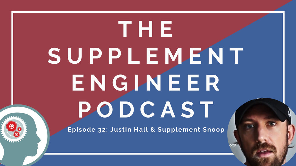 Episode #32 of the Supplement Engineer Podcast features the return of Justin Hall -- creator of the Supplement Snoop app.