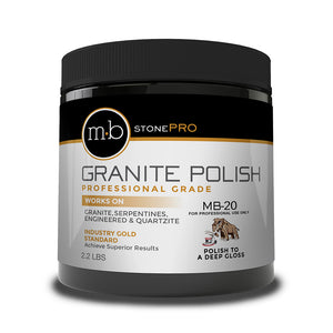 MB Stone Care MB-20 Granite & Serpentine Polish