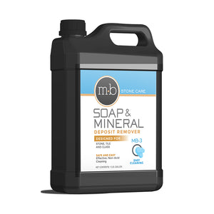 MB Stone Care MB-3 Soap & Mineral Deposit Remover