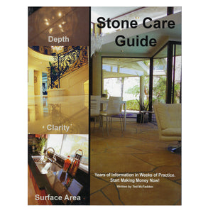 Stone Care Guide - By Ted McFadden