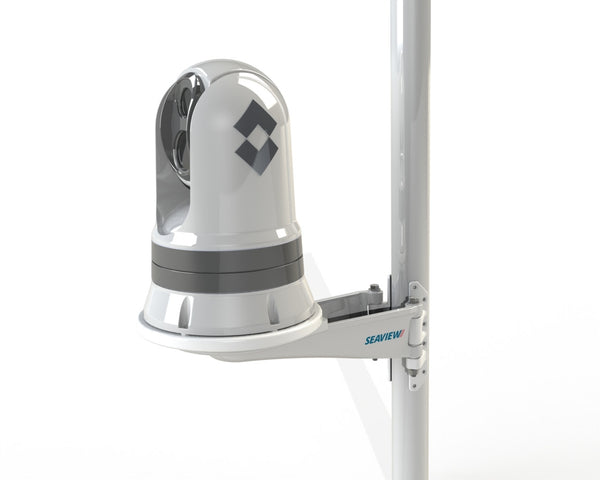 Seaview SM14F3 mast mounting solution for FLIR M300 series thermal camera