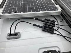 (Overland vehicle with CGM17PG. Waterproof cable entry for solar panels)