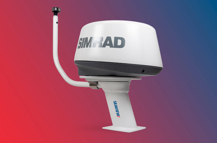 Seaview Modular Mount with Simrad PMA-107-M1