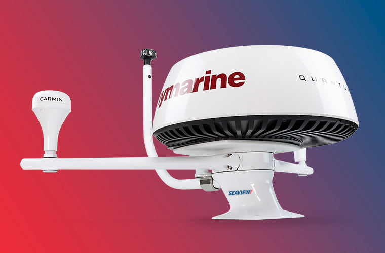 Seaview Modular Mount with Raymarine PMA-57-M1