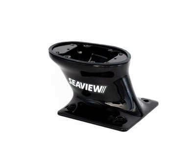 Modular Open Array Mounts-Modular Radar Mounts-Seaview-Aft leaning BLACK-Seaview Global