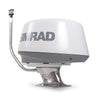 Stainless Steel Mounts-Stainless Steel Radar Mount-Seaview-Simrad-3G, 4G radar domes-Light bar with Perko 1197 anchor light-Seaview Global