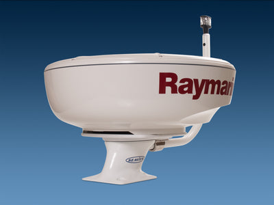"Raymarine Radar and Camera Mounting Solutions-Modular Radar Mounts-Seaview Global-Quantum Radome-5"" Aft Leaning Power Mount-None-Seaview Global"