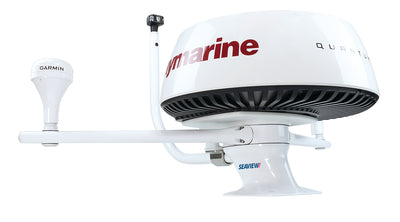 "PMA57M1 + ADAR1 + LTBR + LTBA7800 + SP1MOD + RAYMARINE QUANTUM Modular Radar Mounts-Seaview-Aft leaning-5""-Seaview Global"