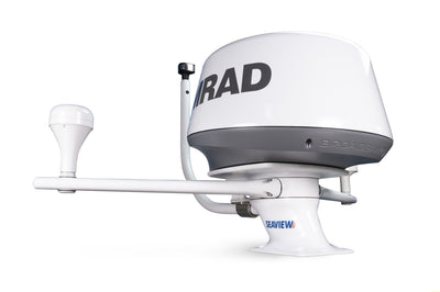 "PMA57M1 + ADAR1 + LTBR + LTBA7800 + SP1MOD + SIMRAD 4G Modular Radar Mounts-Seaview-Aft leaning-5""-Seaview Global"