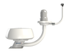"Modular Dual Mounts-Modular Dual Mounts-Seaview-18"" - 24"" closed dome radar-16"" - 18"" satdome-19""-Seaview Global"