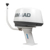 "PMA57M1 + ADAR1 + LTBR + LTBA7800 + SIMRAD 4G Modular Radar Mounts-Seaview-Aft leaning-10""-Seaview Global"