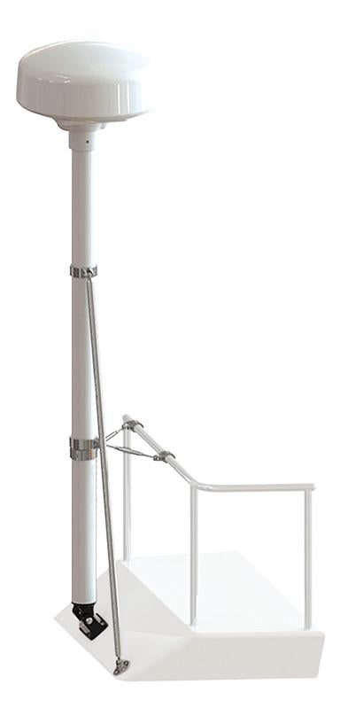 "Pole Kits -8' Tall-Pole Kits-Seaview-One 48"" strut and one 1"" rail stand-off kit (#RM8148)-Seaview Global"