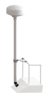 "Pole Kits -8' Tall-Pole Kits-Seaview-One 1"" rail stand-off kit (#RM8KT1)-Seaview Global"