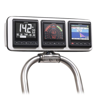 Rail Pods-Instrument Pod-Seaview-Garmin-Three instruments (116mm x 111mm or smaller each)-None-Seaview Global