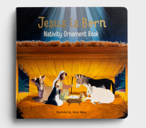 Jesus is Born - advent ornament book