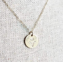 Tulip Necklace (gold or silver)