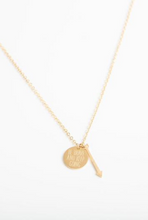 Be Brave & Keep Going Necklace (gold or silver)