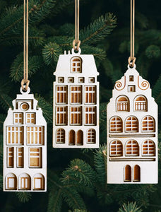 Dutch Fronts ornament set