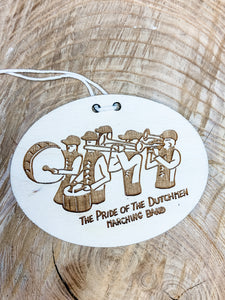 Pride of the Dutchmen Marching Band ornament