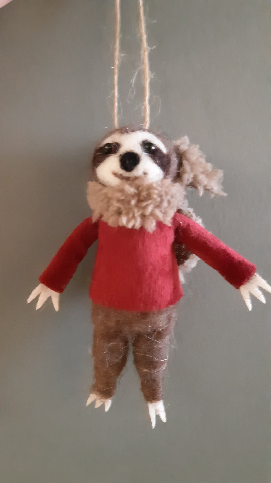 Sloth in a Sweater