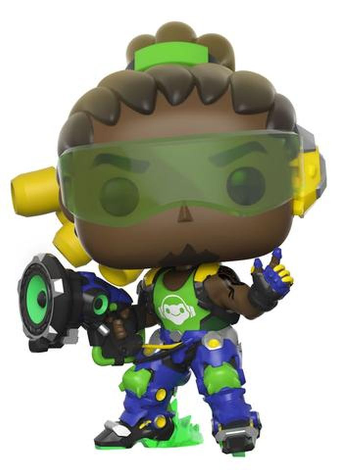 Gaming: Overwatch Lucio Funko POP box damage