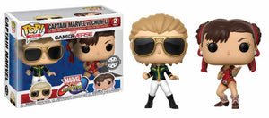 Gaming: Marvel vs Capcom Infinite Captain Marvel vs Chun Li Exclusive Funko POP