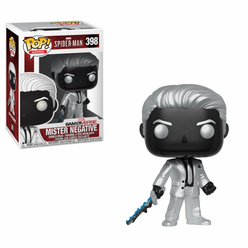 Gaming: Marvel Spider-Man Mister Negative Funko POP