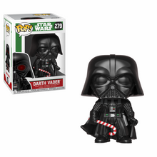 Star Wars Holiday Darth Vader with Candy Cane Funko POP