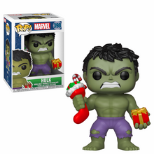 Marvel Holiday Hulk with Stocking & Plush Funko POP