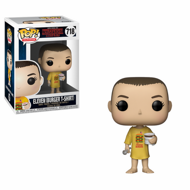 TV Stranger Things Eleven in Burger Tee Funko POP