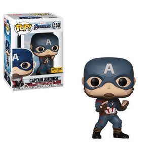 Movies: Avengers Endgame Captain America Hot Topic Exclusive Funko POP