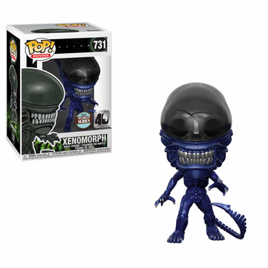 Movies: Alien 40th Anniversary Xenomorph Blue Metallic Independents Exclusive Funko POP (PRE-ORDER)