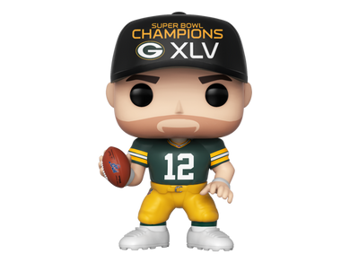 Sport NFL Green Bay Packers Aaron Rodgers SB45 Funko POP! Vinyl PRE-ORDER
