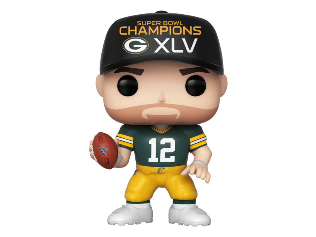 Sport NFL Green Bay Packers Aaron Rodgers SB45 Funko POP! Vinyl