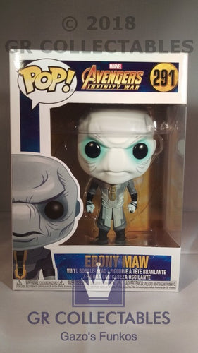 Movies: Avengers Infinity War Ebony Maw Funko POP