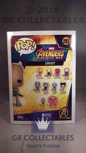 Movies: Avengers Infinity War Groot Funko POP