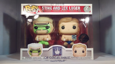 WWE Sting and Lex Luger 2 pack Funko POP