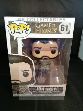 TV: Game of Thrones: Jon Snow (Beyond The Wall) Funko POP