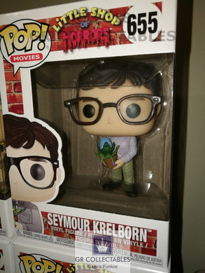 Movies Little Shop of Horrors Seymour with Audrey II Funko POP