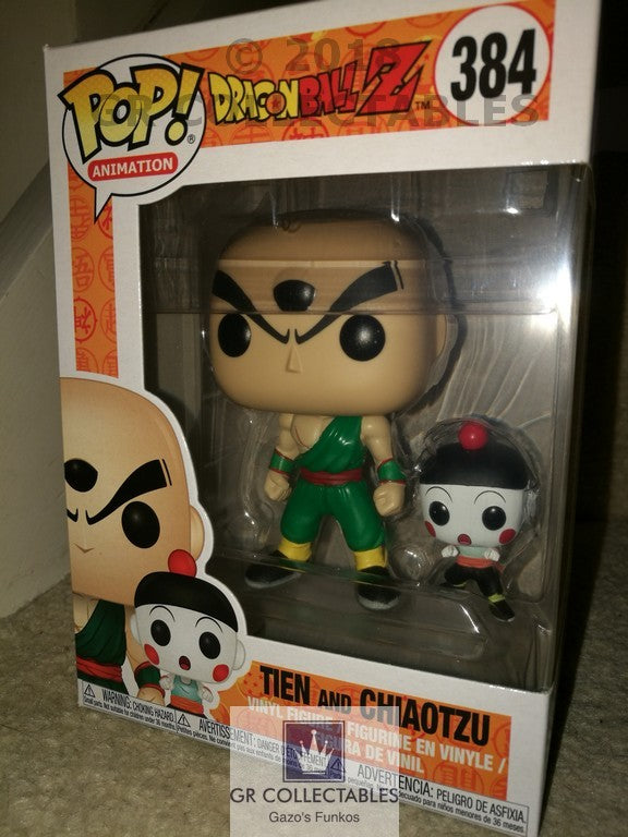 Animation: Dragonball Z S4 Chiaotzu and Tien Funko POP