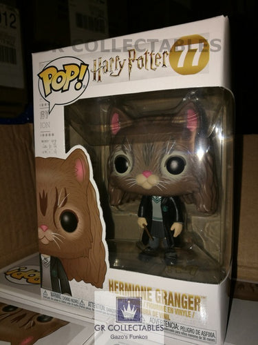 Movies: Harry Potter Hermione as Cat Funko POP