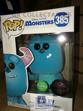 Disney: Monsters Inc Sulley Flocked Exclusive Funko POP