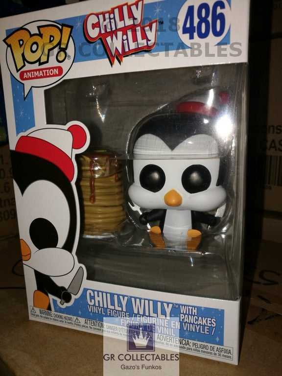 Animation Chilly Willy with Pancakes Funko POP