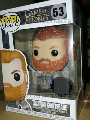 TV: Game of Thrones GOT Tormund (Snow Covered) Exclusive Funko POP Box damage